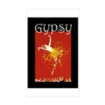 Gypsy Sticker (Rectangle 50 pk)