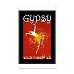Gypsy 35x21 Wall Decal