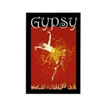 Gypsy Rectangle Magnet (10 pack)