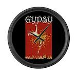 Gypsy Large Wall Clock