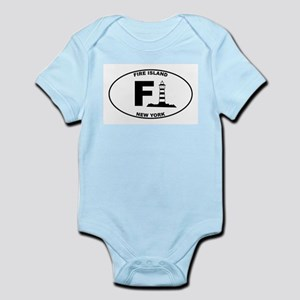 Fire Island Lighthouse Infant Bodysuit