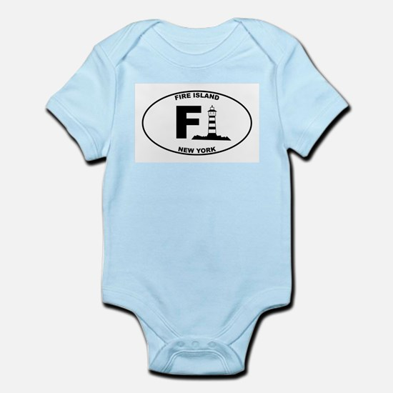 Fire Island Lighthouse Infant Bodysuit