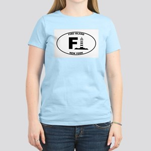 Fire Island Lighthouse Women's Light T-Shirt