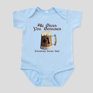 Ale Gives You Bonuses... Infant Bodysuit