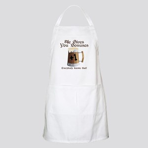 Ale Gives You Bonuses... Apron