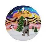 XMusic2-Spinone (roan) Ornament (Round)