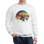 XMusic2-Spinone (roan) Sweatshirt