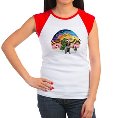 XMusic2-Spinone (roan) Women's Cap Sleeve T-Shirt