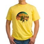 XMusic2-Spinone (roan) Yellow T-Shirt