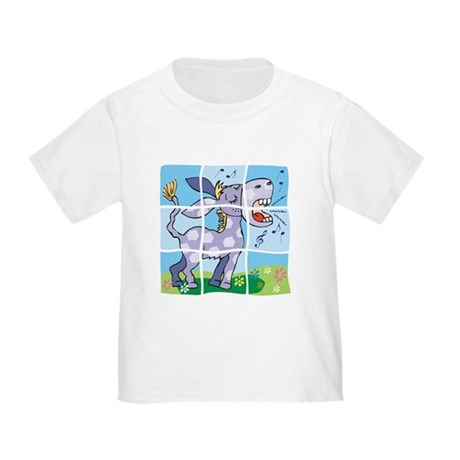 Singing Donkey Puzzle Pet Toddler T-Shirt