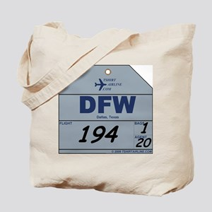 DFW Dallas Ft. Worth Airport  Tote Bag