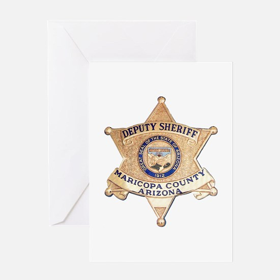 Maricopa County Sheriff Greeting Card
