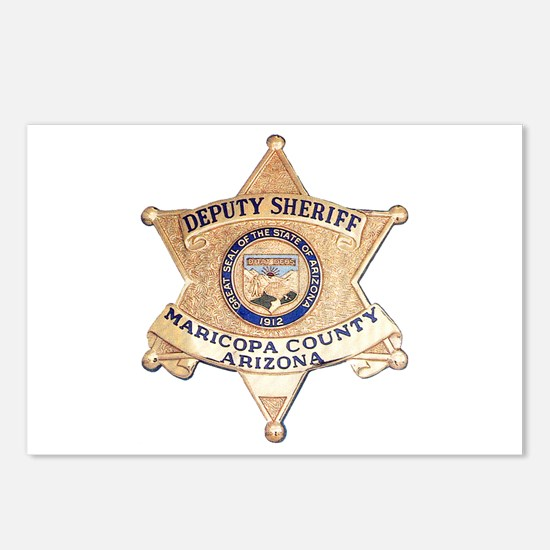 Maricopa County Sheriff Postcards (Package of 8)