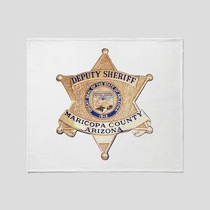 Maricopa County Sheriff Throw Blanket