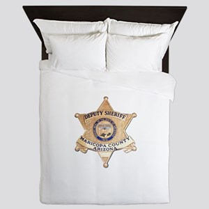 Maricopa County Sheriff Queen Duvet