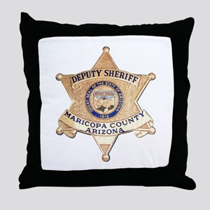 Maricopa County Sheriff Throw Pillow