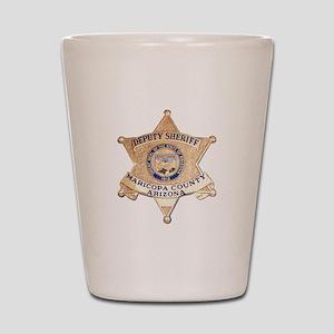 Maricopa County Sheriff Shot Glass