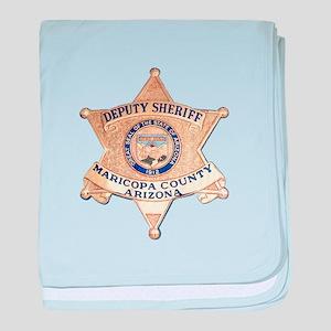 Maricopa County Sheriff baby blanket