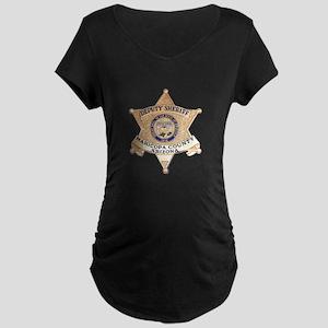 Maricopa County Sheriff Maternity Dark T-Shirt
