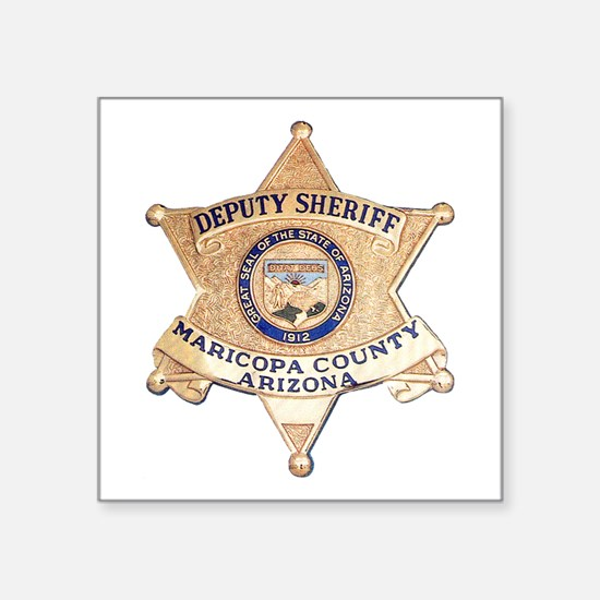 """Maricopa County Sheriff Square Sticker 3"""" x 3"""""""