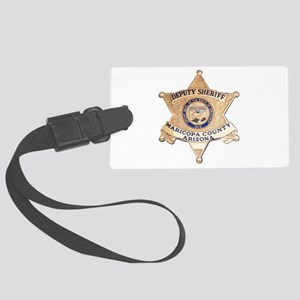 Maricopa County Sheriff Large Luggage Tag