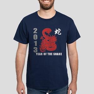 2013 Chinese New Year of The Snake Dark T-Shirt