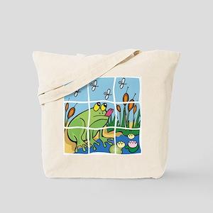 Frog Puzzle Pet Tote Bag