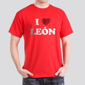 I Love Leon Dark T-Shirt