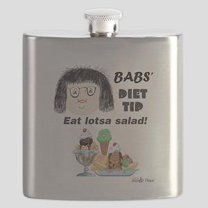 Babs Diet Tip Flask