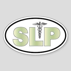 SLP Neutrals Oval Sticker