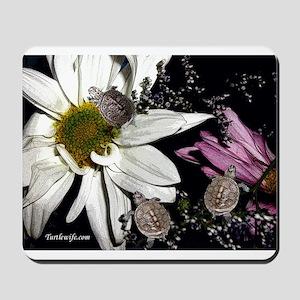 Terrapins & Flowers Mousepad