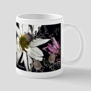 Terrapins & Flowers Mug