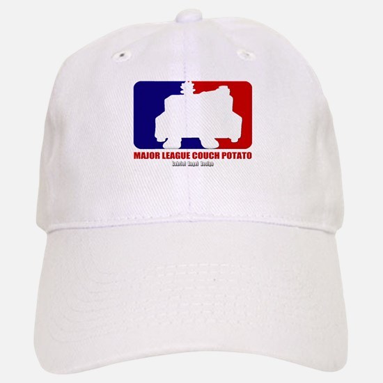 Major League Couch Potato Baseball Baseball Cap