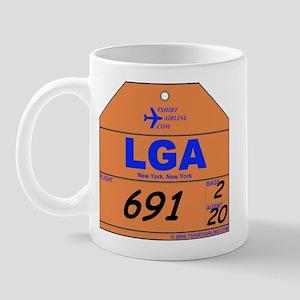 LGA New York Laguardia Mug