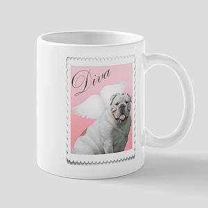 diva bulldog angel Mug