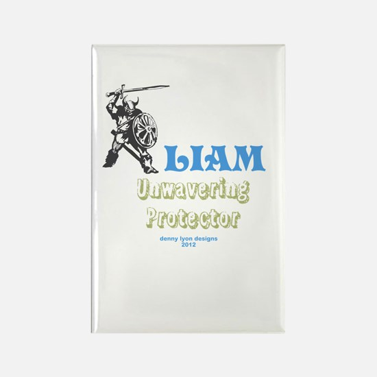 Your Name Liam Rectangle Magnet