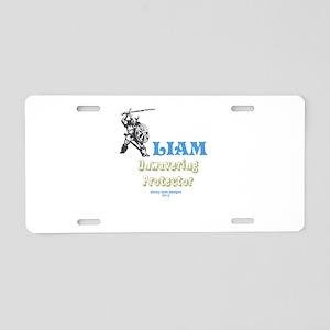 Your Name Liam Aluminum License Plate