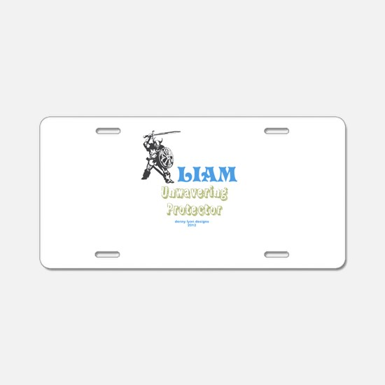 Your Name Liam Aluminum License Plate