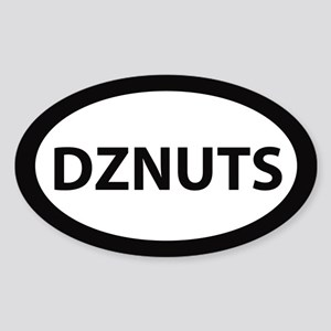 DZNUTS Bumper Sticker