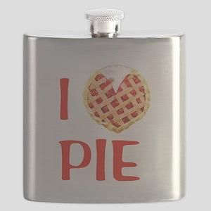 I Love Pie Flask