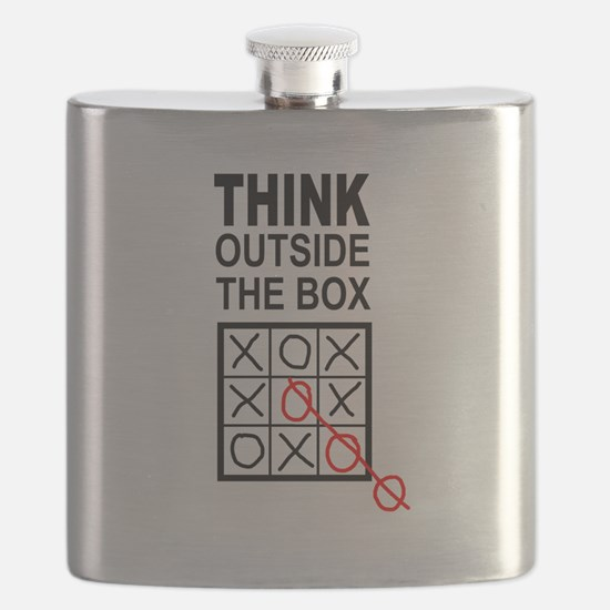 Think Outside the Box Flask