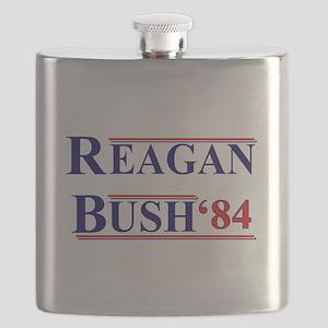 Reagan Bush '12 Flask