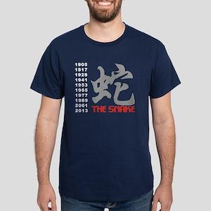 Years of The Snake Dark T-Shirt