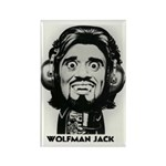 Wolfman Jack Deluxe Magnet