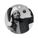 Wolfman Jack Round Ornament