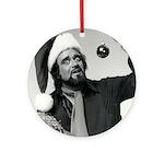 Wolfman Jack Round Ornament
