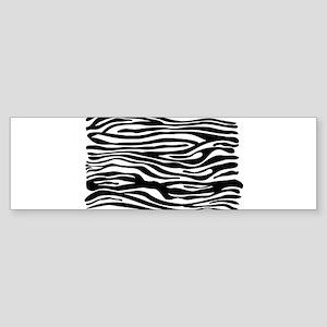 Zebra print Sticker (Bumper)