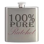 100% Pure Ratchet Flask