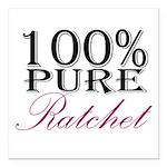100% Pure Ratchet Square Car Magnet 3&Quot; X 3&Qu