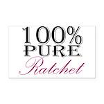 100% Pure Ratchet Rectangle Car Magnet